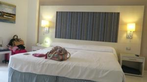 Onze aangepaste slaapkamer voor rolstoelers in Hotel Tigotan.