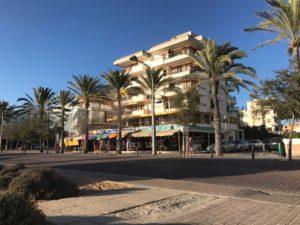 Winkeltjes op de boulevard van Playa de Palma.