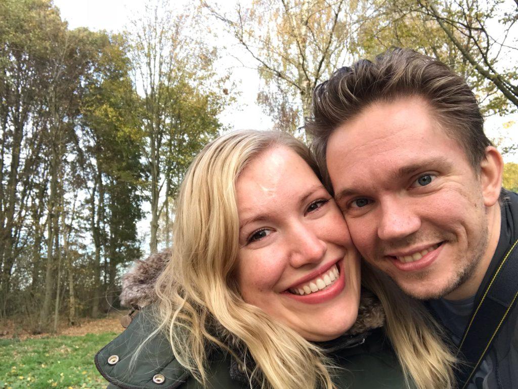 Manon en Stijn tijdens hun vakantie in de Achterhoek.